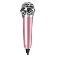 Mini-Stereo-Mikrofon Mic 3.5 mm Klinkenbuchse M04 für Xiaomi Redmi Note 5 Pro Rosa