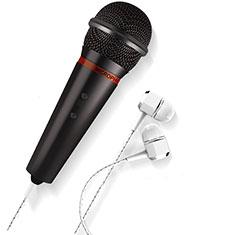 Mini-Stereo-Mikrofon Mic 3.5 mm Klinkenbuchse M05 für Sony Xperia XZ2 Premium Schwarz
