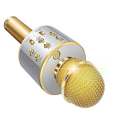 Mini-Stereo-Mikrofon Mic 3.5 mm Klinkenbuchse M06 Gold