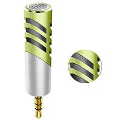 Mini-Stereo-Mikrofon Mic 3.5 mm Klinkenbuchse M09 für Oneplus 7 Grün