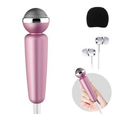 Mini-Stereo-Mikrofon Mic 3.5 mm Klinkenbuchse M10 für Sony Xperia XZ2 Schwarz