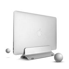NoteBook Halter Halterung Laptop Ständer Universal S01 für Apple MacBook Air 13 zoll (2020) Silber