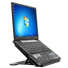 NoteBook Halter Halterung Laptop Ständer Universal S02 für Apple MacBook 12 zoll Schwarz