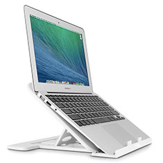 NoteBook Halter Halterung Laptop Ständer Universal S02 für Apple MacBook 12 zoll Silber