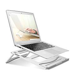 NoteBook Halter Halterung Laptop Ständer Universal S03 für Apple MacBook Air 13.3 zoll (2018) Silber