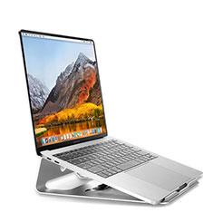 NoteBook Halter Halterung Laptop Ständer Universal S04 für Apple MacBook Air 13.3 zoll (2018) Silber
