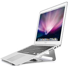 NoteBook Halter Halterung Laptop Ständer Universal S05 für Apple MacBook 12 zoll Silber