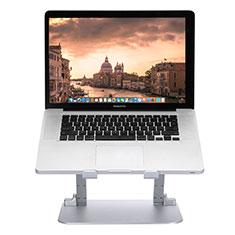 NoteBook Halter Halterung Laptop Ständer Universal S08 für Apple MacBook Air 13.3 zoll (2018) Silber