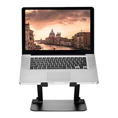 NoteBook Halter Halterung Laptop Ständer Universal S08 für Apple MacBook Air 13 zoll (2020) Schwarz