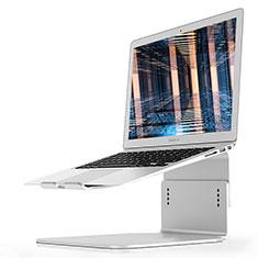 NoteBook Halter Halterung Laptop Ständer Universal S09 für Apple MacBook Air 13 zoll (2020) Silber