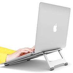 NoteBook Halter Halterung Laptop Ständer Universal S10 für Apple MacBook Air 13.3 zoll (2018) Silber
