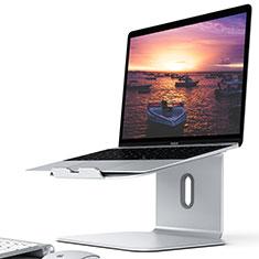 NoteBook Halter Halterung Laptop Ständer Universal S12 für Apple MacBook Air 13 zoll (2020) Silber