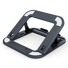 NoteBook Halter Halterung Laptop Ständer Universal T02 für Samsung Galaxy Book Flex 15.6 NP950QCG Schwarz