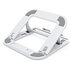 NoteBook Halter Halterung Laptop Ständer Universal T02 für Samsung Galaxy Book Flex 15.6 NP950QCG Weiß