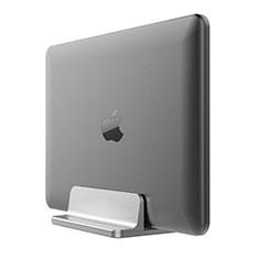NoteBook Halter Halterung Laptop Ständer Universal T05 für Samsung Galaxy Book Flex 13.3 NP930QCG Silber