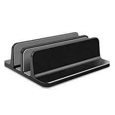 NoteBook Halter Halterung Laptop Ständer Universal T06 für Samsung Galaxy Book Flex 13.3 NP930QCG Schwarz