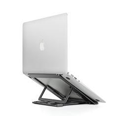 NoteBook Halter Halterung Laptop Ständer Universal T08 für Samsung Galaxy Book Flex 13.3 NP930QCG Schwarz