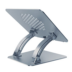 NoteBook Halter Halterung Laptop Ständer Universal T09 für Samsung Galaxy Book Flex 15.6 NP950QCG Grau