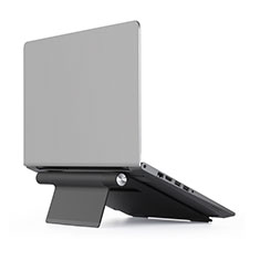 NoteBook Halter Halterung Laptop Ständer Universal T11 für Apple MacBook Air 13 zoll Schwarz