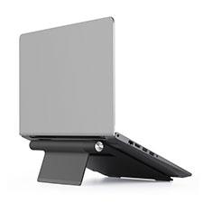 NoteBook Halter Halterung Laptop Ständer Universal T11 für Samsung Galaxy Book Flex 13.3 NP930QCG Schwarz