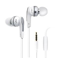 Ohrhörer Stereo Sport Kopfhörer In Ear Headset H23 für Huawei Honor WaterPlay 10.1 HDN-W09 Weiß