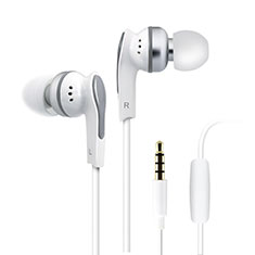 Ohrhörer Stereo Sport Kopfhörer In Ear Headset H23 für Apple iPhone 11 Weiß