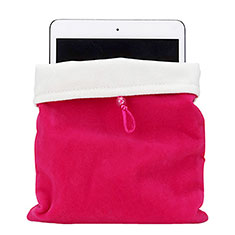 Samt Handy Tasche Schutz Hülle für Apple iPad New Air (2019) 10.5 Pink
