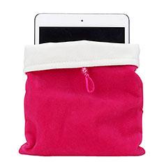 Samt Handy Tasche Schutz Hülle für Huawei MatePad 5G 10.4 Pink
