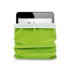 Samt Handy Tasche Schutz Hülle für Huawei MediaPad X2 Grün