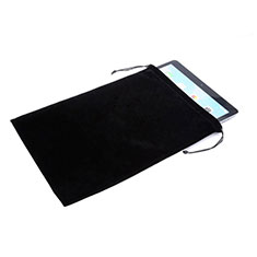 Samt Handy Tasche Sleeve Hülle für Huawei MediaPad M2 10.0 M2-A10L Schwarz