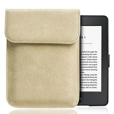 Samt Handy Tasche Sleeve Hülle S01 für Amazon Kindle Paperwhite 6 inch Gold