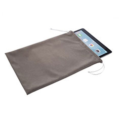 Samt Handytasche Sleeve Hülle für Samsung Galaxy Tab 4 7.0 SM-T230 T231 T235 Grau