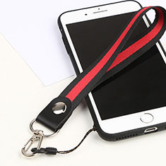 Schlüsselband Schlüsselbänder Lanyard K01 für Asus Zenfone 3 Zoom Rot