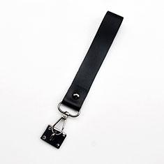 Schlüsselband Schlüsselbänder Lanyard K06 für Asus Zenfone 3 Zoom Schwarz