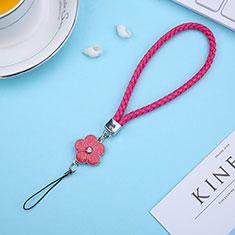 Schlüsselband Schlüsselbänder Lanyard K11 für Asus Zenfone 3 Zoom Rot