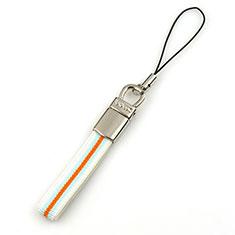 Schlüsselband Schlüsselbänder Lanyard K12 Weiß