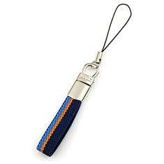 Schlüsselband Schlüsselbänder Lanyard K15 für Asus Zenfone 3 Zoom Blau