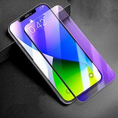 Schutzfolie Displayschutzfolie Panzerfolie Gehärtetes Glas Glasfolie Anti Blue Ray Skins zum Aufkleben Panzerglas B01 für Apple iPhone 12 Pro Klar