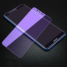 Schutzfolie Displayschutzfolie Panzerfolie Gehärtetes Glas Glasfolie Anti Blue Ray Skins zum Aufkleben Panzerglas B01 für Huawei Y6 Prime (2018) Klar