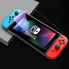 Schutzfolie Displayschutzfolie Panzerfolie Gehärtetes Glas Glasfolie Anti Blue Ray Skins zum Aufkleben Panzerglas B01 für Nintendo Switch Klar