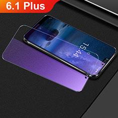 Schutzfolie Displayschutzfolie Panzerfolie Gehärtetes Glas Glasfolie Anti Blue Ray Skins zum Aufkleben Panzerglas B01 für Nokia 6.1 Plus Klar