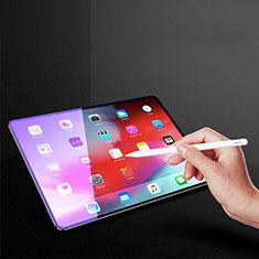 Schutzfolie Displayschutzfolie Panzerfolie Gehärtetes Glas Glasfolie Anti Blue Ray Skins zum Aufkleben Panzerglas B02 für Apple iPad Pro 12.9 (2018) Klar