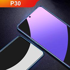 Schutzfolie Displayschutzfolie Panzerfolie Gehärtetes Glas Glasfolie Anti Blue Ray Skins zum Aufkleben Panzerglas für Huawei P30 Klar
