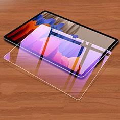 Schutzfolie Displayschutzfolie Panzerfolie Gehärtetes Glas Glasfolie Anti Blue Ray Skins zum Aufkleben Panzerglas für Samsung Galaxy Tab S7 Plus 12.4 Wi-Fi SM-T970 Klar