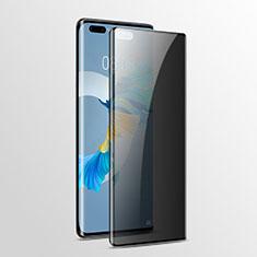 Schutzfolie Displayschutzfolie Panzerfolie Gehärtetes Glas Glasfolie Privacy Skins zum Aufkleben Panzerglas für Huawei Mate 40 Pro Klar