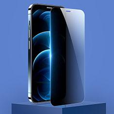 Schutzfolie Displayschutzfolie Panzerfolie Gehärtetes Glas Glasfolie Privacy Skins zum Aufkleben Panzerglas M01 für Apple iPhone 12 Klar