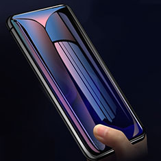 Schutzfolie Displayschutzfolie Panzerfolie Gehärtetes Glas Glasfolie Privacy Skins zum Aufkleben Panzerglas M01 für Huawei Nova 5T Schwarz