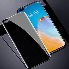 Schutzfolie Displayschutzfolie Panzerfolie Gehärtetes Glas Glasfolie Privacy Skins zum Aufkleben Panzerglas M01 für Huawei P40 Klar