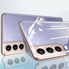 Schutzfolie Displayschutzfolie Panzerfolie Gehärtetes Glas Glasfolie Rückseite Skins zum Aufkleben B01 für Samsung Galaxy S21 5G Klar