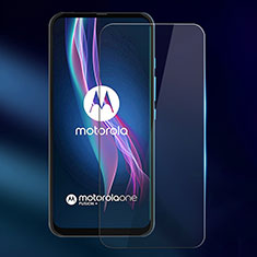 Schutzfolie Displayschutzfolie Panzerfolie Gehärtetes Glas Glasfolie Skins zum Aufkleben Panzerglas für Motorola Moto One Fusion Plus Klar